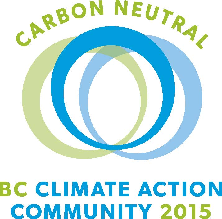 logo Carbon Neutral, BC Climate Action Community, 2015