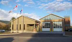 Lavington Fire Hall building